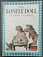 THE LONELY DOLL LEARNS A LESSON Vintage 1961 B&W Photo Edith Book by Dare Wright