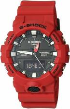 Casio G-Shock Men's Red Analog-Digital Watch GA800-4A