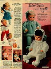1970 PAPER AD Doll Furga France Clodrey Betsy Wetsy Mattel Tender Love Tubsy