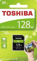 Toshiba® 128GB SDXC™ UHS-I High Speed N203 Memory Card Class 10 100MB/s