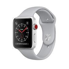 Apple Watch Series 3 42mm Silver Aluminium GPS & Cellular Fog Sport Band Smart