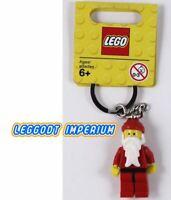 LEGO Christmas - Santa Claus Keyring - holidays minifigure FREE POST