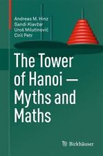 THE TOWER OF HANOI - MYTHS AND MATHS - NEW HARDCOVER BOOK
