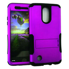 Armor Hybrid Impact Silicone Rugged Cover Case for LG Aristo LV3 - Color
