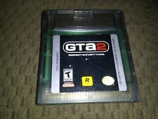 Grand Theft Auto 2 (Nintendo Game Boy Color, GBC, 1999) Authentic