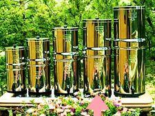 Imperial Berkey Water Filter Purify w 6 Black and 6 PF2 Filters  w Warranty