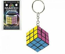 Rubik's Cube Rompecabezas Juguete Mini Llavero Colgante Nuevo
