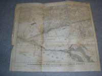 Antique New York Map Six Nations 1851 Gavit 1790 Iroquois Land Settler Families