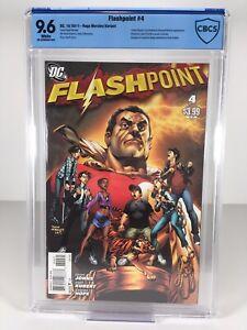 Flashpoint #4 Rags Morales Variant Cover CBCS 9.6 NM+ Captain Thunder ⚡️SHAZAM⚡️