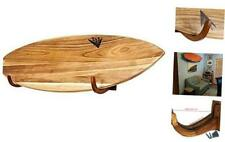 Surfboard Wall Rack for Long Boards and Short Boards Works Indoor and Wood