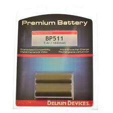 NEW DELKIN PREMIUM BP-511A BATTERY FOR CANON 50D 40D 30D 20D 5D AND OTHERS