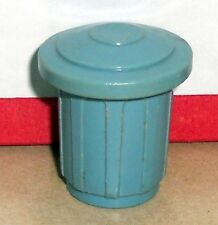 Vintage 80's Fisher Price Little People Oscar The Grouch Sesame Street #938 939