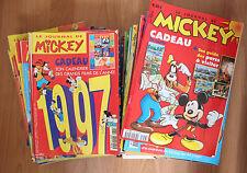 Lot de 75 LE JOURNAL DE MICKEY entre N°2283 et N°2456 (BON ETAT)