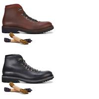 Mens Julius Marlow Trek Boots Walking Casual Brown Black Comfortable Shoes