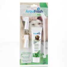 New Grooming Toothbrush and Toothpaste PP Plastic Pet Dog White Free Shipping