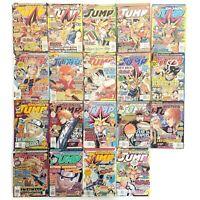 Lot of (19) Shonen Jump Magazines Manga Anime 2005 2006 2007 2008 Viz Media