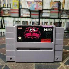 CLEAN Joe & Mac (Super Nintendo Entertainment System, 1992) SNES CLEANED & WORKS