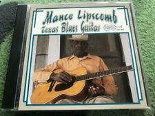 """Mance Lipscomb """"Texas Blues Guitar"""" cd Arhoolie NEAR MINT/MINT"""