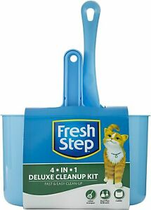 Fresh Step Recycled Plastic Litter Box and Cleanup Products for Cats