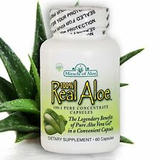 Aloe Vera Gel Capsules - 60 Caps