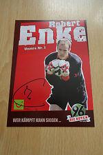 Robert Enke Autogramm signed 10x15 cm Postkarte