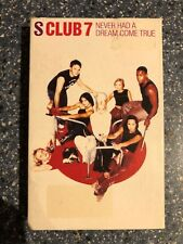 S Club 7 - Never Had A Dream Come True Cassette Single Card Sleeve