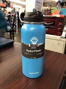 Hydro Flask 32oz Insulated Bottle - Pacific Blue NEW