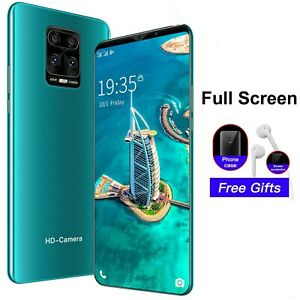 2021 Note9 Pro Smartphone Android 4.4 512 + 4G ROM Smart Phones Face Unlock 5.0