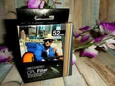 VIVITAR CPL FILTER 52mm ~ NEW ~ FAST SHIPPING!!