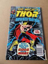 Thor 450 . Giant Size / Gatefold Cover -  Marvel  1992  -     FN +
