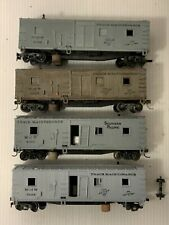 A148- Lot Of HO Scale Revell 1956 Track Cleaning Maintenance Cars