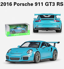 Welly 1:24 Porsche 911 GT3 RS Sports Car Diecast Model Collection Toy New In Box