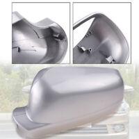 Left Passenger Side Door Wing Mirror Cover For VW Golf MK4 Bora 1996-2003 Silver