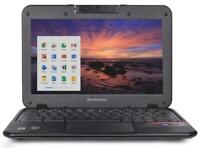 "Lenovo N21 11.6"" Chromebook Laptop, Intel N2840 2.16GHz Dual-Core, 16GB SSD"