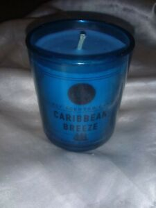 DW HOME CARIBBEAN BREEZE HAND POURED JAR CANDLE 3.8 OZ SMALL RICHLY SCENTED