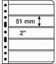 'Lighthouse Vario Stamp Storage Pages-5C-5 to a-Sheet-Clear Back-1 sided