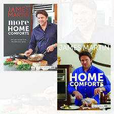 James Martin Home Comforts 2 Books Collection Set More Home Comforts
