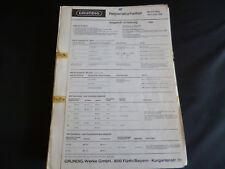 ORIGINALI service manual Grundig Melody BOY 1000 e transistor 900e