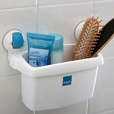 Bathroom Flip Wall Strong Suction cup Absorption Pocket Basket orgarizer L size