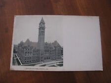 "Antique ""Municipal Building, Toronto, Can."" Postcard"