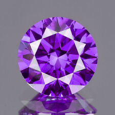 1.6 MM CERTIFIED Round Fancy Purple Color SI Loose Natural Diamond Wholesale Lot