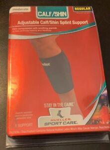 NEW Mueller Adjustable Calf/Shin Splint Support Wraparound 330REG Left Or Right