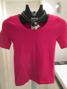 WOLFORD red stretch top, vintage, size Small, Pristine, Small
