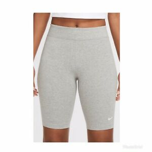 Women's Nike Sportswear XL Grey Shorts New With Tags