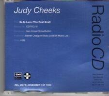 (DE876) Judy Cheeks, So In Love (The Real Deal) - 1993 DJ CD
