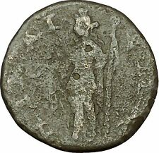 SEVERUS ALEXANDER 222AD Nicaea in Bithynia Demeter Agriculture Roman Coin i40341