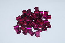 10pcs Purple aluminum pigeon rings, leg bands for pigeons US Seller