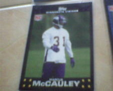 marcus mccauley rc 2007 rookie topps