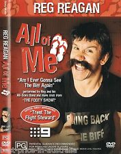 REG REAGAN: ALL Of ME DVD AUSTRALIAN TV Channel 9 Footy Show NRL RUGBY LEAGUE R4