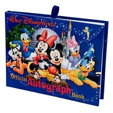 New Official Disney World Resort Autograph Book Park Exclusive Mickey & Gang NIP